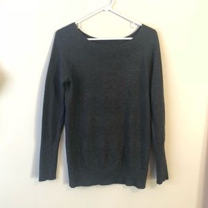 Gray LOFT sweater